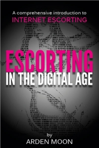 Escorting in digital age